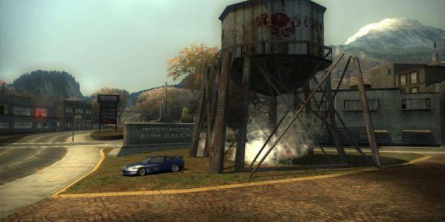 The best race on the PC: Need for Speed: Most Wanted (2005)