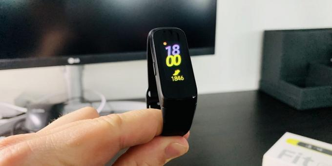 Review of Samsung Galaxy Fit and Galaxy Fit E: Display Galaxy Fit