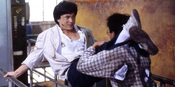"The best movies with Jackie Chan: ""Police Story 2"""