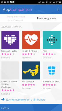 AppComparison application from Microsoft urges to switch from Android to Windows Phone