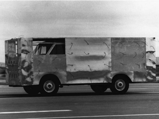 Cool cars NASA: aerodynamic truck