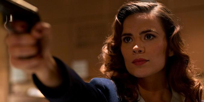 "On the life of Peggy Carter - the first love Captain America - told in the TV series ""Agent Carter"""