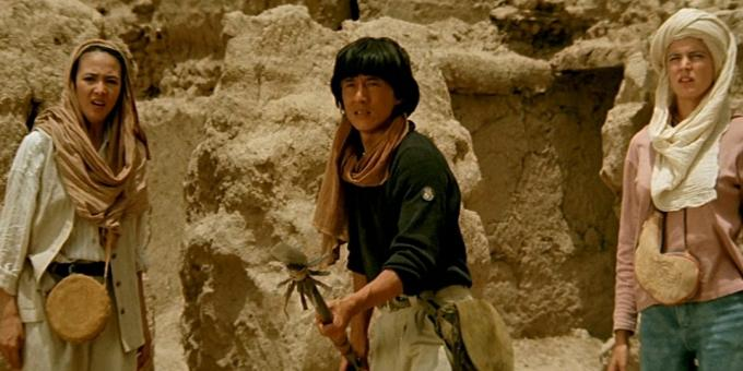 "The best movies with Jackie Chan, ""Armor of God 2: Operation Condor"""