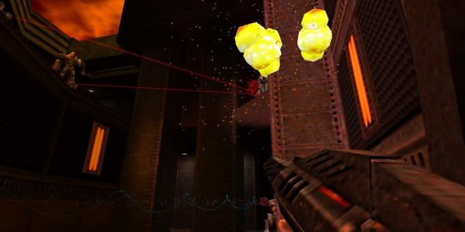Old games on the PC: Shooting in Quake II