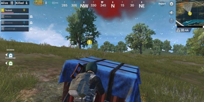 PUBG Mobile: support boxes