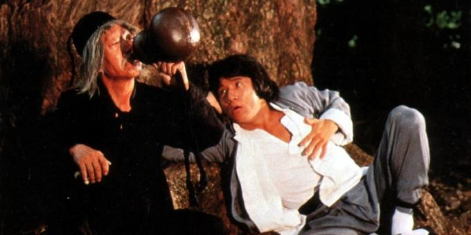 "The best movies with Jackie Chan: ""Drunken Master"""