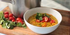 10 meatless soups that want to prepare all year round