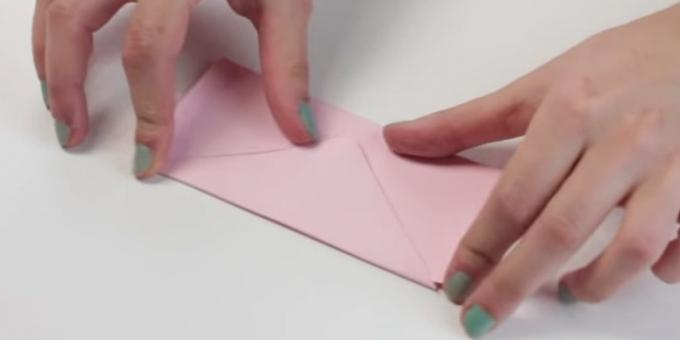 envelope with your hands: bend valve