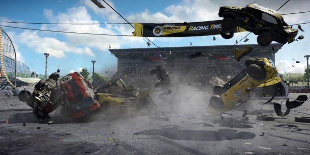 The best race on the PC: Wreckfest