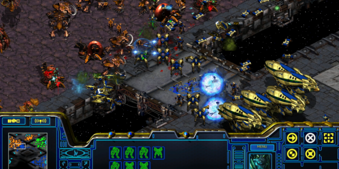 Old games on the PC: StarCraft