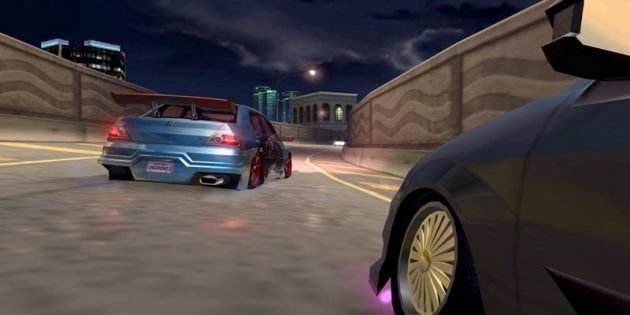 The best race on the PC: Need for Speed: Underground 2