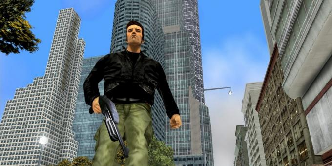 Old games on the PC: Angular people from GTA III