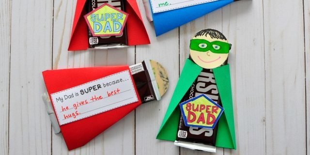 How to make gifts on February 23 with his own hands: Sweet gift for a superhero
