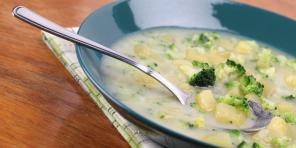 10 easy vegetable soup, which is not inferior to meat