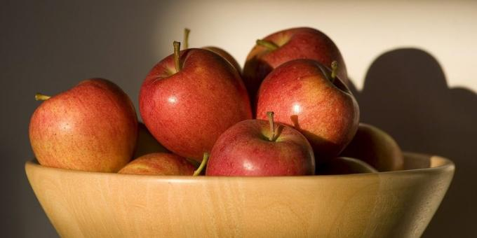 Useful fruit and berries: apples