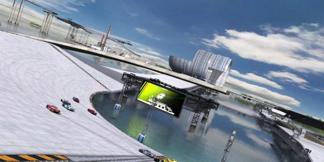 The best race on the PC: Trackmania United Forever