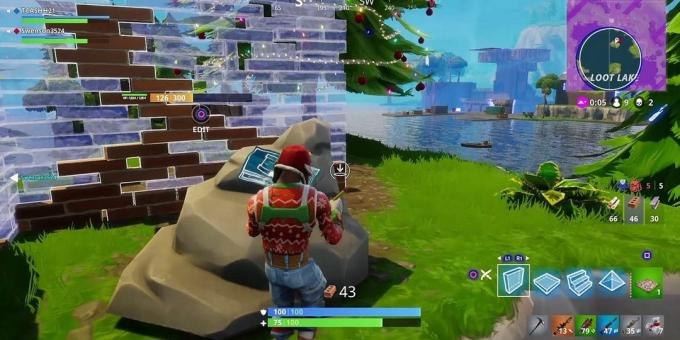 the best games on the PC: Fortnite