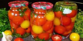 5 of delicious pickled tomatoes
