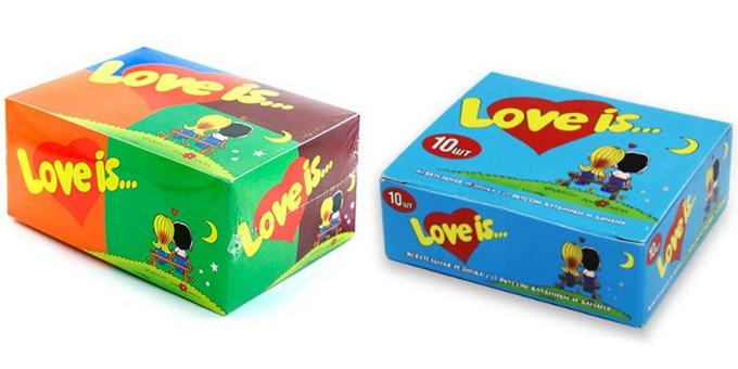 What to give a girl on February 14: Love is a block of gum ...