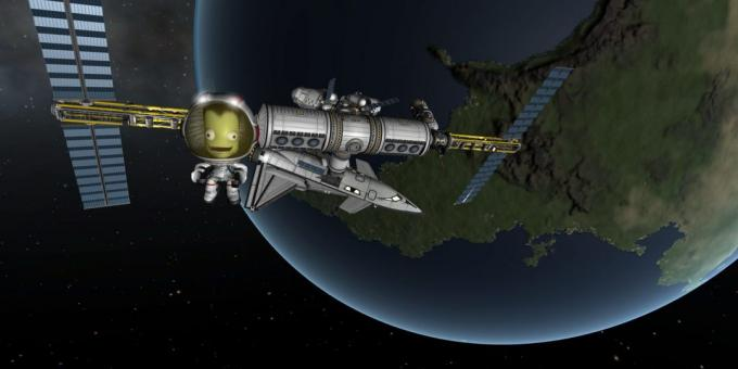 Game about space: Kerbal Space Program