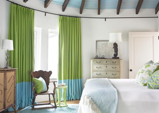 How to choose curtains: Color