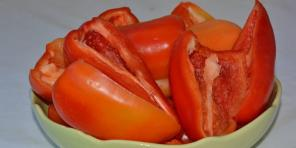 How to peel pepper