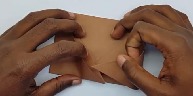 Connect the sides of the envelope
