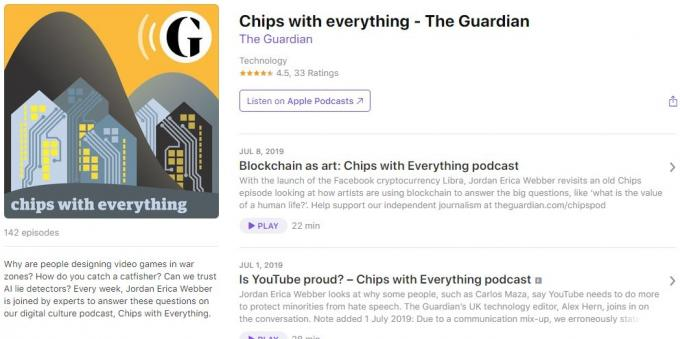 Podcasts about technology: Chips with everything