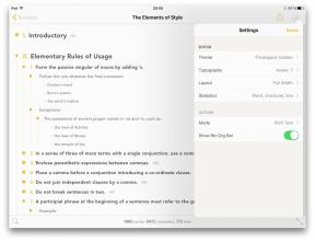 Outlinely - Powerful tool for dealing with complex texts on iPhone and iPad