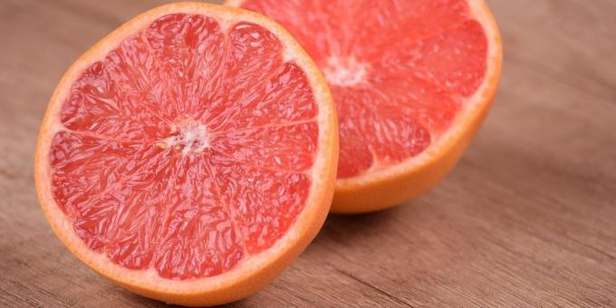useful fruits and berries: Grapefruit