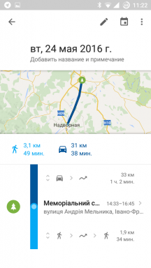 Google Maps for Android is now able to plot a route through several points