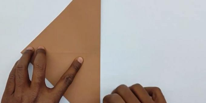 how to make an envelope fold paper square