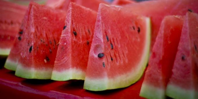 Useful fruits and berries watermelon