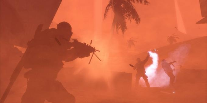 Shooter with the plot: Spec Ops: The Line (in the fog)