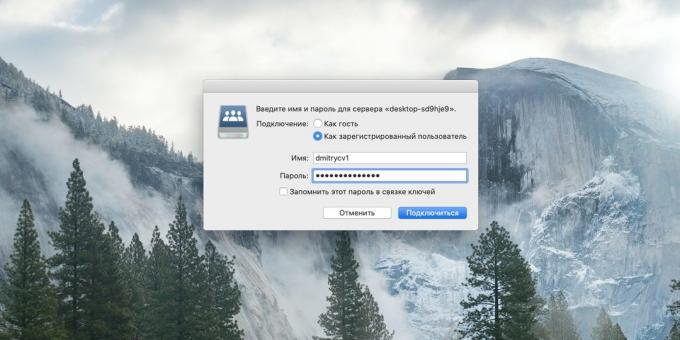 How to connect your PC to your computer via Wi-Fi: browse files on the computer macOS
