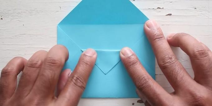 envelope with your hands: Bend Area