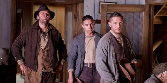 Movies with Tom Hardy: Lawless