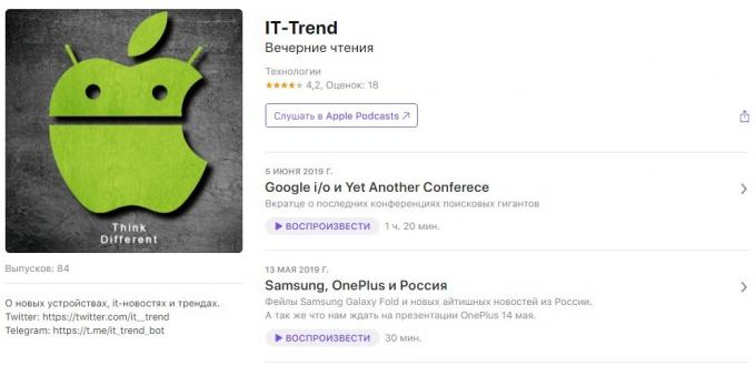 Podcasts about technology: IT-Trend