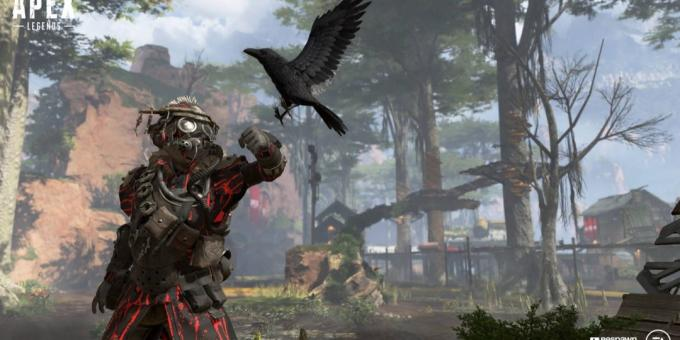 Apex Legends: A scene from the game
