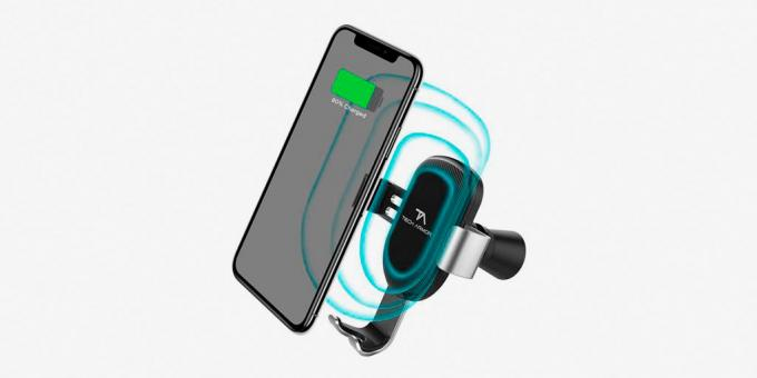 The process of wireless charging