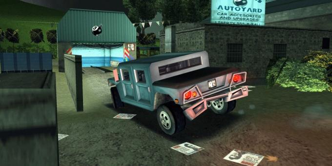 Old games on the PC: Grand Theft Auto III