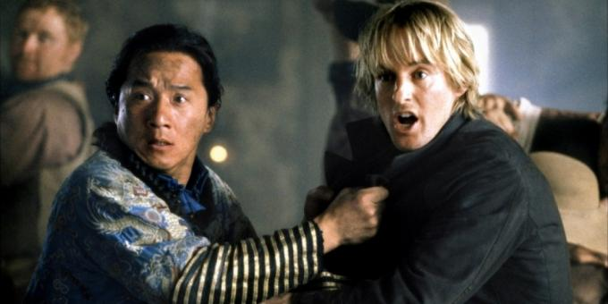 "The best movies with Jackie Chan, ""Shanghai Noon"""