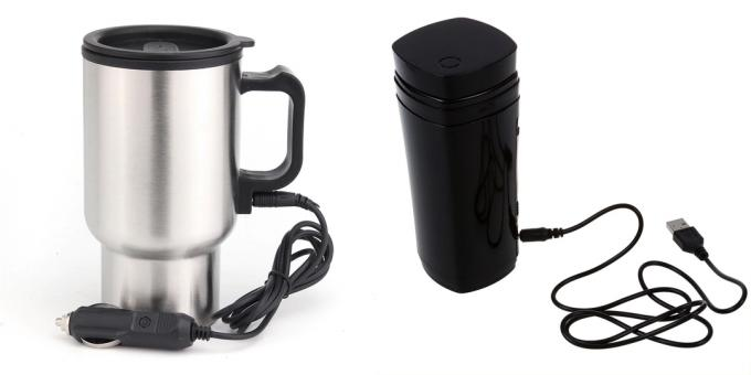 What to give the guy for February 14: Car mug heated