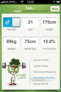 Nutrino - your personal nutritionist