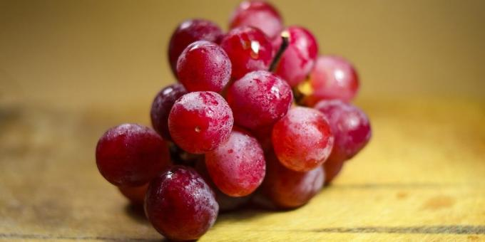 Useful fruit and berries: Grapes