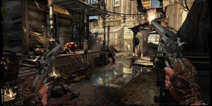 Shooter with the plot: Call of Juarez