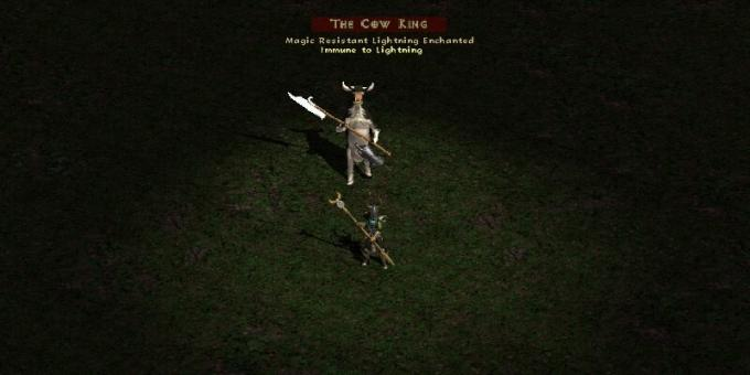 Old games on the PC: The Cow King