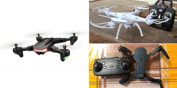 What to give the guy for February 14: quadrocopter
